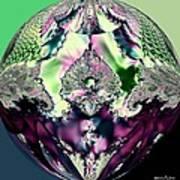 Crystal Royale Fractal Poster