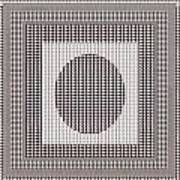Crystal White And Gray Dots Design Pattern Shade Deco Decoration Poster