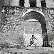 Cuba - Boy And Church Poster