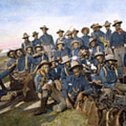 Cuba - Tenth Cavalry 1898 Poster