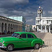 Cuba Green  Poster