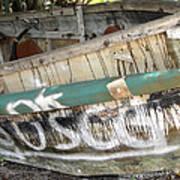 Cuban Refugees Boat 2 Poster