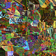 Night Market - Outdoor Markets Of New York City Poster