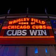 Cubs Win Poster
