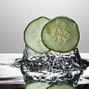 Cucumber Freshsplash Poster