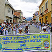 Cuenca Kids 326 Poster by Al Bourassa