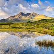 Cuillin Reflection Poster