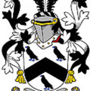 Cullen Coat Of Arms Irish Poster
