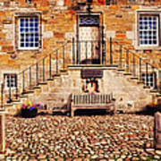 Culross Sketches 1  Scotland Poster