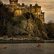 Culzean Castle Scotland Poster by Alex Saunders