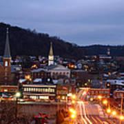 Cumberland At Night Poster