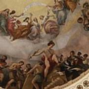 Cupola Painting - Washington Dc Poster