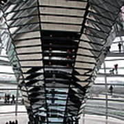 Cupola Reichstag Building II Poster