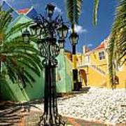 Curacao Colorful Architecture Poster