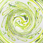 Curly Greens II Poster