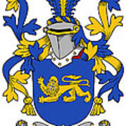Currie Coat Of Arms Irish Poster