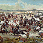 Custer's Last Charge Poster