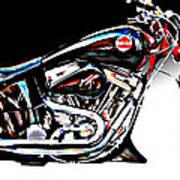 Custom Bike Study 1 Poster