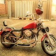 Custom Harley   Hdr Poster