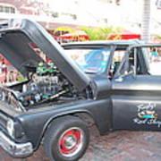 Custom Pickup Truck Poster