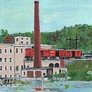 Cutler's Mill - Circa 1870 Poster