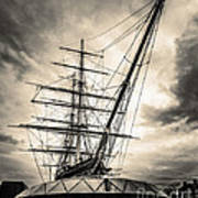 Cutty Sark Sepia Poster