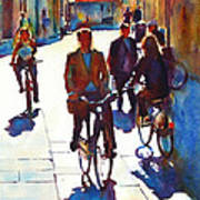 Cycling In The City Poster
