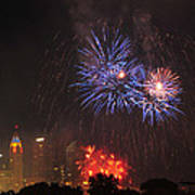 D21l163 Red White And Boom Photo Poster