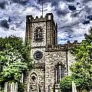 Dagenham Village Church Poster