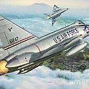 Daggers Of Defense Poster by Stu Shepherd