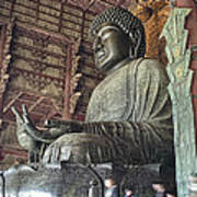 Daibutsu Buddha Of Todai-ji Temple Poster