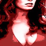 Daisy Duke Dark Variation Poster by J Anthony
