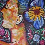 Daisy Poster by Linda Vaughon