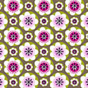 Daisy's Flower Garden Poster by Lisa Noneman