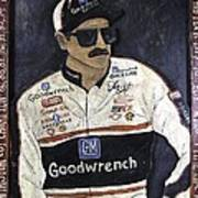 Dale Earnhardt Sr. - The Intimidator Poster by Eric Cunningham