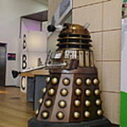Dalek At The Bbc 2 Poster