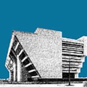 Dallas Skyline City Hall - Steel Poster