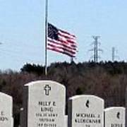 Dallas Fort Worth Memorial Cemetery Poster