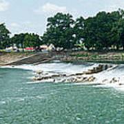 Dam At Batesville Arkansas Poster by Douglas Barnett