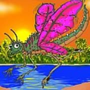Dameon The Dragonfly  Poster