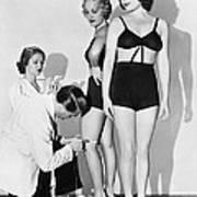 Dance Director Selecting Girls Poster