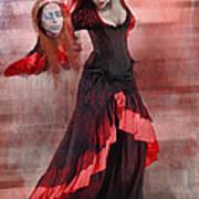 Dance Macabre Poster by Hazel Billingsley