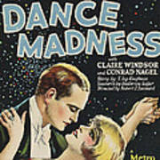 Dance Madness, From Left Conrad Nagel Poster