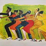 Dance Series1 0f 8-shim Sham Shimmy Poster