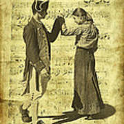 Dance The Minuet With Me Poster