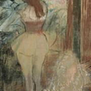 Dancer Dressing Poster