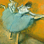 Dancers At The Barre Poster