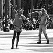 Dancers In Sao Paulo Poster