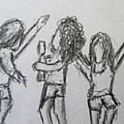 Dancing Children Poster