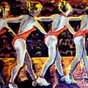 Dancing Girls Poster